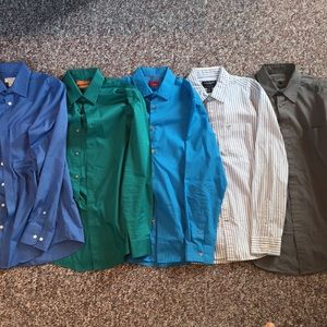 Other - 5 Button-down Dress/Casual Shirts